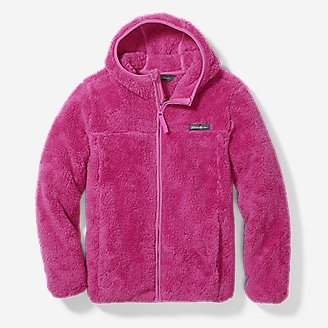 Kids' Quest Plush Fleece Jacket in Purple