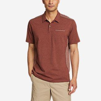 Men's Adventurer Short-Sleeve Polo Shirt in Brown