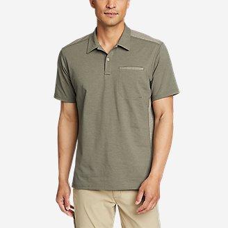 Men's Adventurer Short-Sleeve Polo Shirt in Green