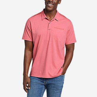 Men's Adventurer Short-Sleeve Polo Shirt in Red
