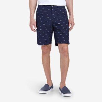 Men's Camano 9' Shorts - Print in Blue