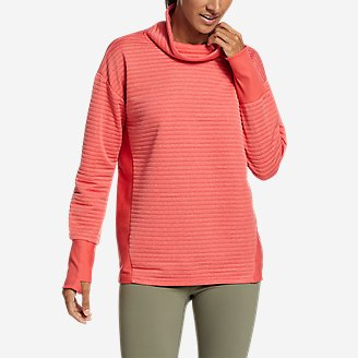 Women's Dash Point Sweatshirt in Red