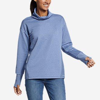 Women's Dash Point Sweatshirt in Blue