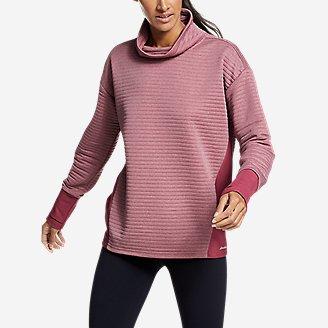 Women's Dash Point Sweatshirt in Red