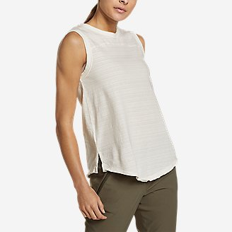 Women's Go-To Tank Top in White