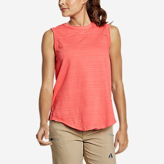 Women's Go-To Tank Top in Red