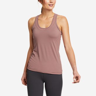 Women's Resolution 360 Mesh Mix Tank Top in Pink