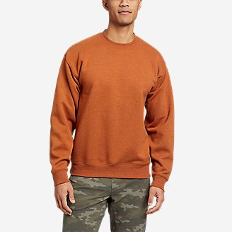 Eddie Bauer Signature Sweatshirt in Orange