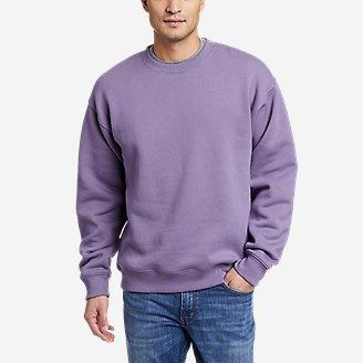 Eddie Bauer Signature Sweatshirt in Purple