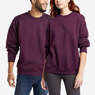 Eddie Bauer Signature Sweatshirt in Purple
