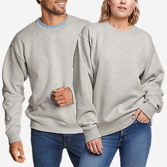 Eddie Bauer Signature Sweatshirt in Gray