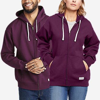 Eddie Bauer Signature Hoodie in Purple