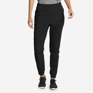 Women's Guide Pro Flex Lined Jogger Pants in Black